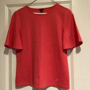 Ann Taylor coral blouse, Size XS